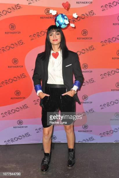 Cocovan attends Refinery29's 29Rooms Los Angeles 2018 Expand Your Reality at The Reef on December 04 2018 in Los Angeles California