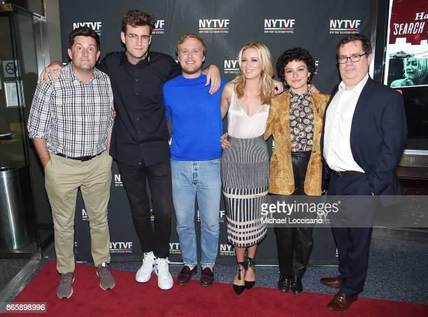 Cocreator and executive producer Michael Showalter actors John Reynolds John Early Meredith Hagner and Alia Shawkat and founder and executive...