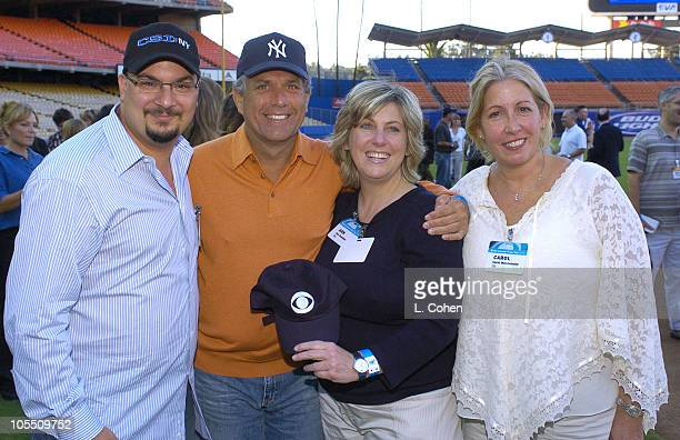 Cocreator and executive producer of CSI NY Anthony Zuiker copresident and coCOO of Viacom Leslie Moonves Ann Donahue and Carol Mendelson