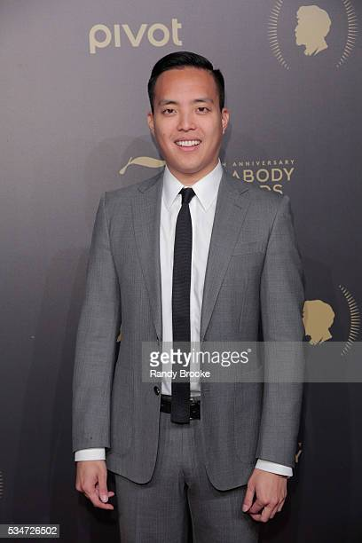 "Co-Creator and Executive Producer of ""Master of None,"" Alan Yang attends the 75th Annual Peabody Awards Ceremony at Cipriani Wall Street on May 21,..."