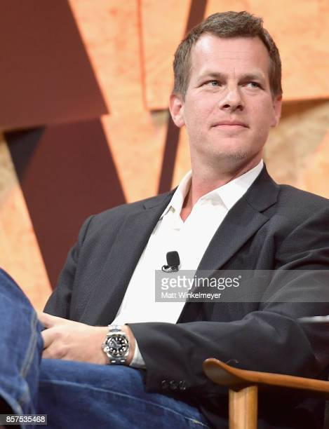 CoCreator and Executive Producer of Westworld Jonathan Nolan speaks onstage during Vanity Fair New Establishment Summit at Wallis Annenberg Center...