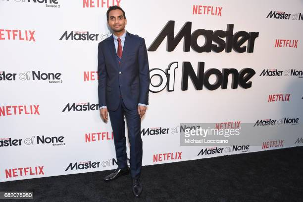 Cocreator Executive Producer Actor Aziz Ansari attends the Netflix Master Of None S2 Premiere NY Screening 2017 on May 11 2017 in New York City