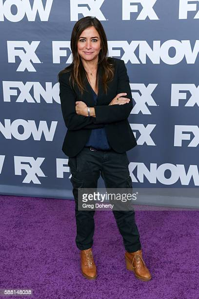 CoCreator Executive Producer Writer and Director Pamela Adlon attends the FX Networks TCA 2016 Summer Press Tour at The Beverly Hilton on August 9...