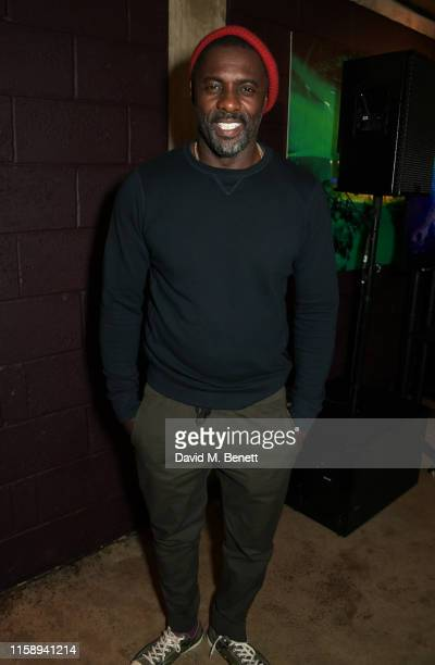 "Co-Creator Idris Elba attends the press night after party for ""Tree"" at The Young Vic on August 1, 2019 in London, England."