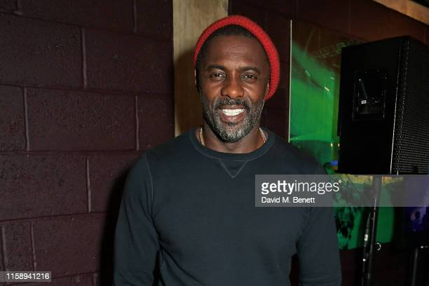 CoCreator Idris Elba attends the press night after party for Tree at The Young Vic on August 1 2019 in London England
