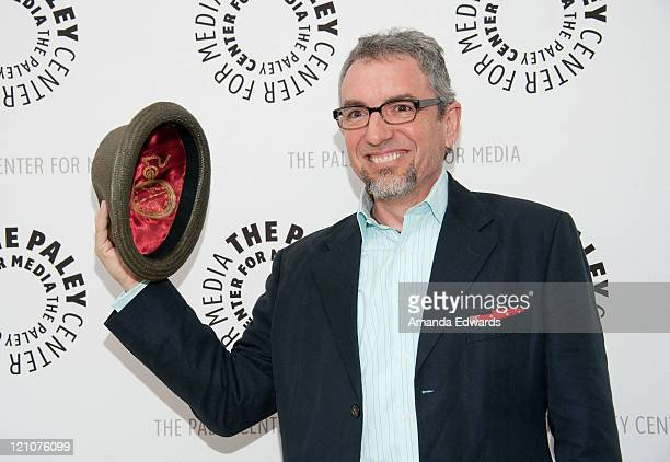 Cocreator Jeff Swampy Marsh arrives at the PaleyFest Family Celebrates Television Series From Disney Channel's Phineas and Ferb at The Paley Center...