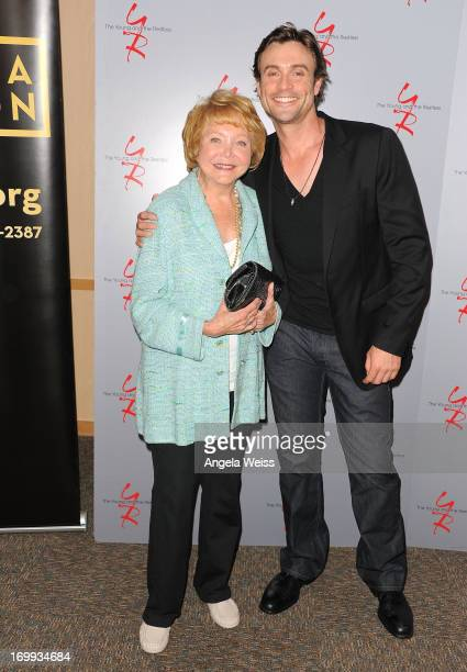Cocreator Lee Phillip Bell and actor Daniel Goddard attend the 40 years of The Young and The Restless celebration presented by SAGAFTRA at SAGAFTRA...