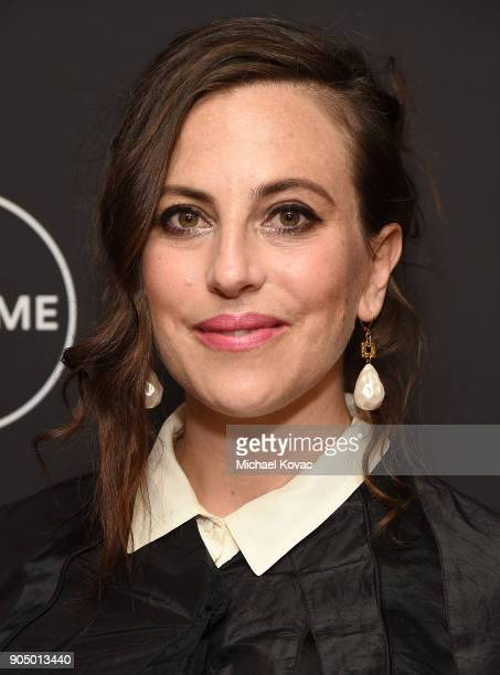 Cocreator of 'UnREAL' Sarah Gertrude Shapiro attends AE Networks' 2018 Winter Television Critics Association Press Tour at The Langham Huntington...