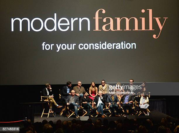 CoCreator Steven Levitan actor Ed O'Neill actress Sofia Vergara actor Ty Burrell actress Julie Bowen actor Eric Stonestreet and actress Ariel Winter...