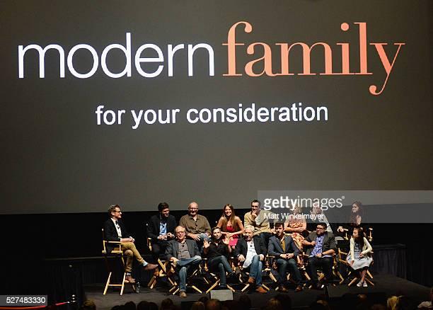 CoCreator Steven Levitan actor Ed O'Neill actress Sofia Vergara actor Ty Burrell actress Julie Bowen actor Eric Stonestreet and actress Ariel Winter...