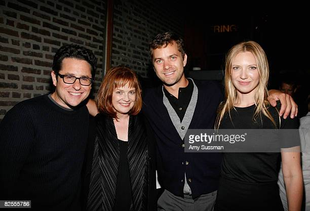 CoCreator Writer and Executive Producer JJ Abrams actress Blair Brown actor Joshua Jackson and actress Anna Torv attend the 'Fringe' New York...