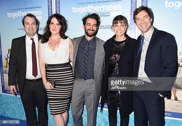 Co-creator/actor Steve Zissis, actress Melanie Lynskey, creator/executive producer/writer Jay Duplass, actress Amanda Peet and creator/executive...