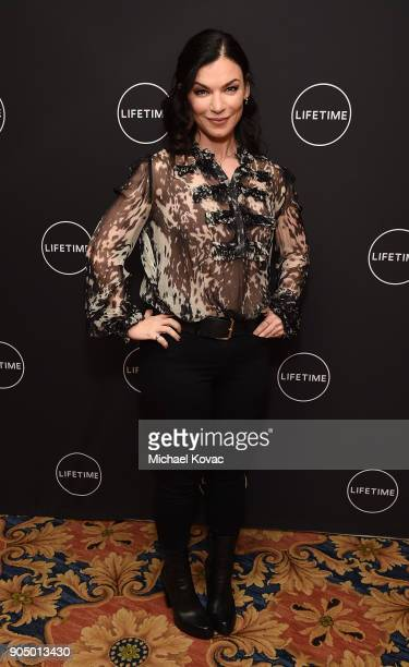 Cocreator/coshowrunner of 'YOU' Sera Gamble attend AE Networks' 2018 Winter Television Critics Association Press Tour at The Langham Huntington Hotel...