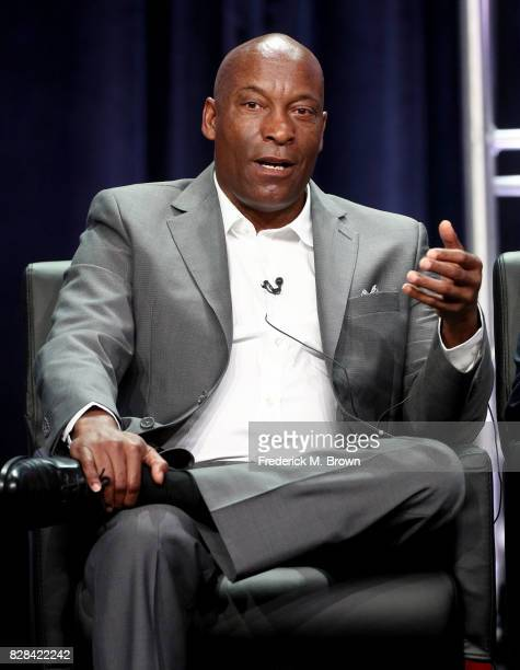 Cocreator/Executive Producer/Director/Writer John Singleton of 'Snowfall' speaks onstage during the FX portion of the 2017 Summer Television Critics...