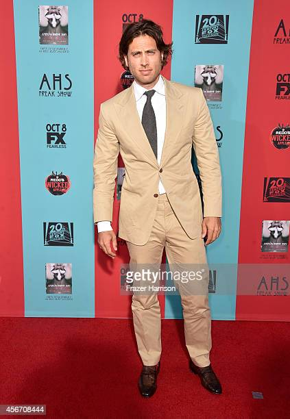 Cocreator/executive producer/writer Brad Falchuk attends FX's 'American Horror Story Freak Show' premiere screening at TCL Chinese Theatre on October...