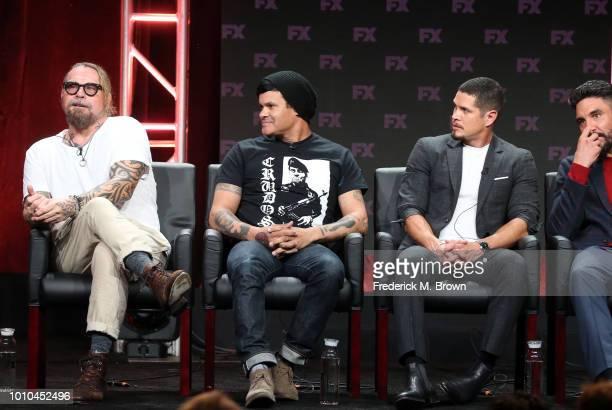Cocreator/executive producer/writer Kurt Sutter cocreator/executive producer/writer/director Elgin James actors J D Pardo and Clayton Cardenas speak...