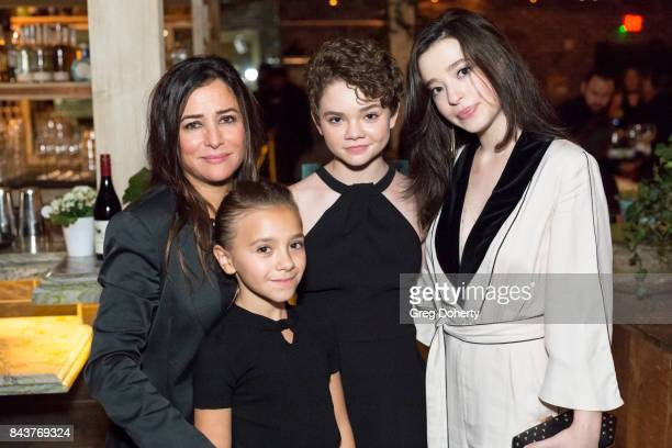 CoCreator/Executive Producer/Writer/Director Pamela Adlon and Actresses Olivia Edward Hannah Alligood and Mikey Madison attend the Premiere Of FX's...