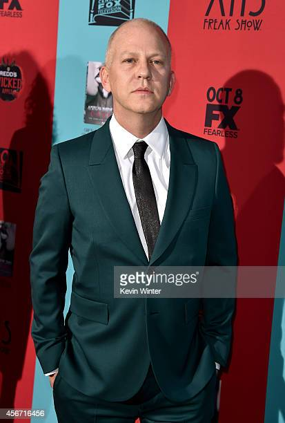 Cocreator/executive producer/writer/director Ryan Murphy attends the premiere screening of FX's American Horror Story Freak Show at TCL Chinese...