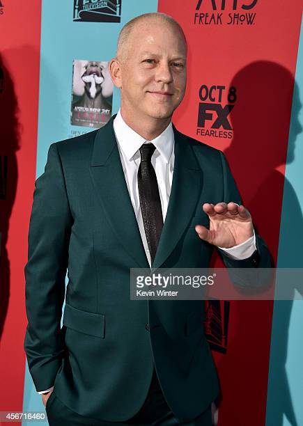 """Co-creator/executive producer/writer/director Ryan Murphy attends the premiere screening of FX's """"American Horror Story: Freak Show"""" at TCL Chinese..."""