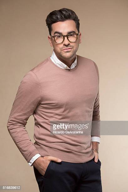 Co-creators and co-stars of the sitcom 'Schitt's Creek' Dan Levy is photographed for Los Angeles Times on March 2, 2016 in Los Angeles, California....