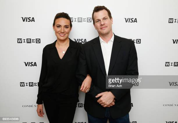 CoCreators and Executive Producers of Westworld Lisa Joy and Jonathan Nolan attend WIRED Business Conference presented by Visa at Spring Studios on...