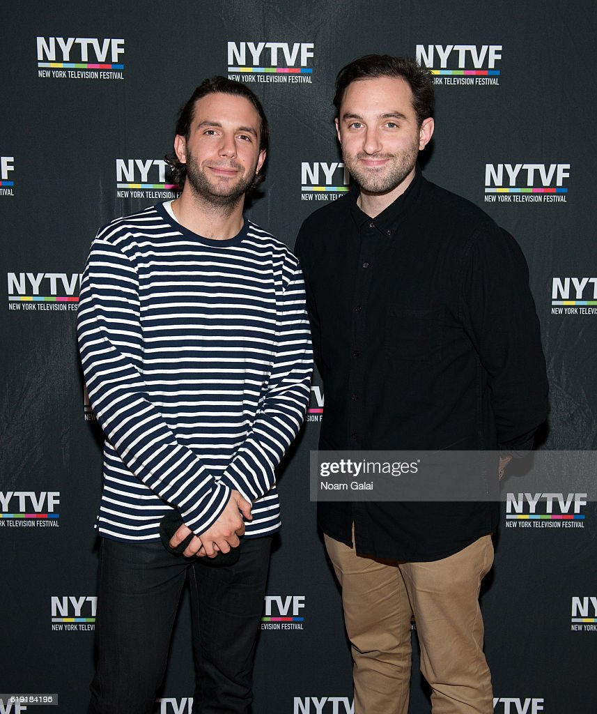 Co-creators of the HBO Series 'Animals' Phil Matarese and Mike Luciano attend the NYTVF Development Day panels during the 12th Annual New York Television Festival at Helen Mills Theater on October 29, 2016 in New York City.
