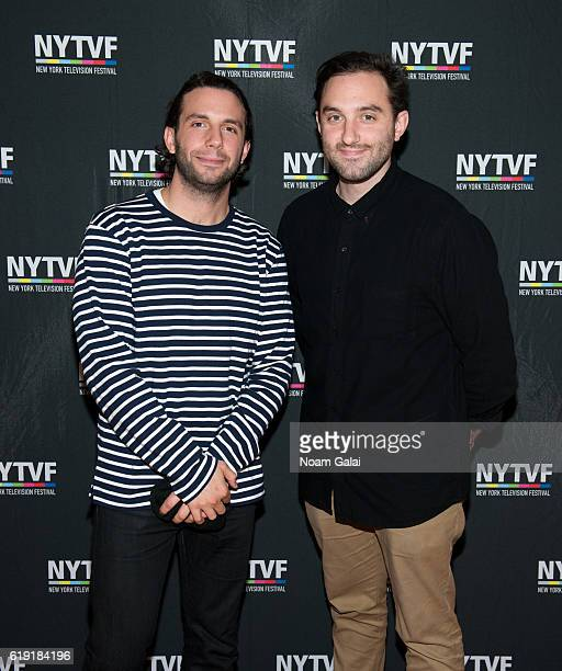 Cocreators of the HBO Series 'Animals' Phil Matarese and Mike Luciano attend the NYTVF Development Day panels during the 12th Annual New York...