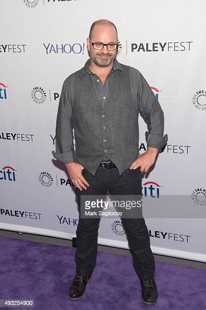 CoCreator/Writer Graeme Manson attends the PaleyFest New York 2015 'Orphan Black' at The Paley Center for Media on October 18 2015 in New York City