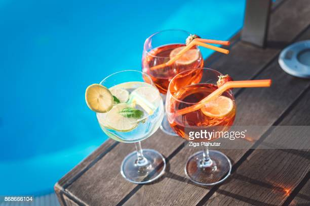 coctails - standing water stock pictures, royalty-free photos & images