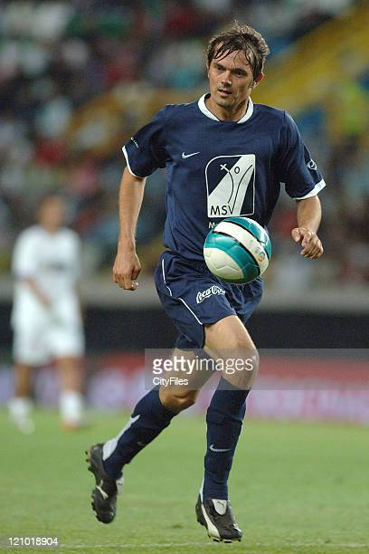Cocu during the 2007 All Stars Lisbon game at Alvalade XXI Stadium, Lisbon, Portugal on June 9, 2007. Some of the best football players of the world...