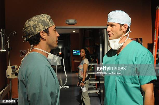 Code GreenÓ Ð Andy talks to Dr Travis an anesthesiologist on THREE RIVERS Sunday Nov 11 th on the CBS Television Network Dr Travis Stork guest stars...