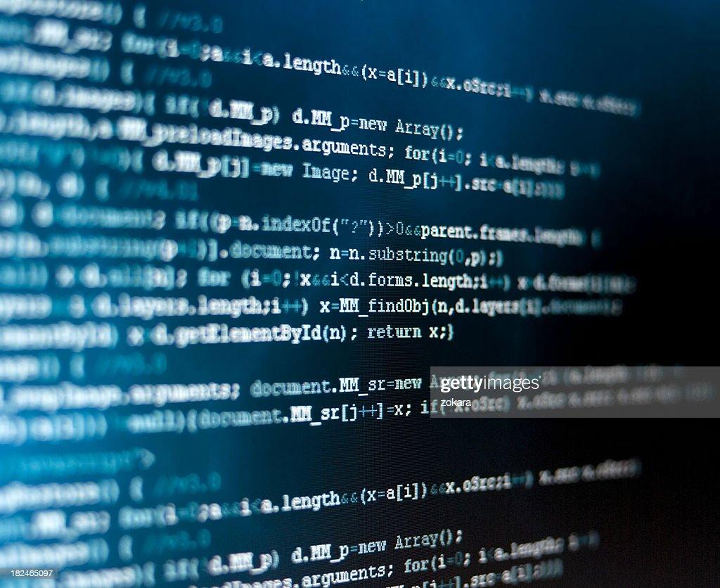 HTML code : Stock Photo