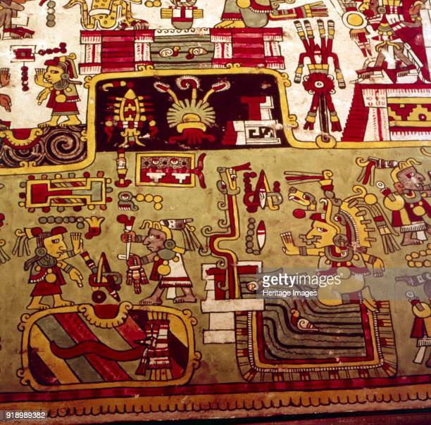 Codex ZoucheNuttall is a preColumbian document of Mixtec pictography 12001521 Codex comprising 47 leaves made of painted deer skin painted Contains...