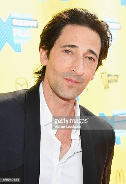 Codirector Adrien Brody attends the Stone Barn Castle premiere during the 2015 SXSW Music Film Interactive Festival at Topfer Theatre at ZACH on...