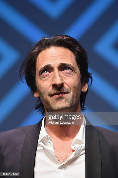 Codirector Adrien Brody takes part in a QA following the Stone Barn Castle premiere during the 2015 SXSW Music Film Interactive Festival at Topfer...
