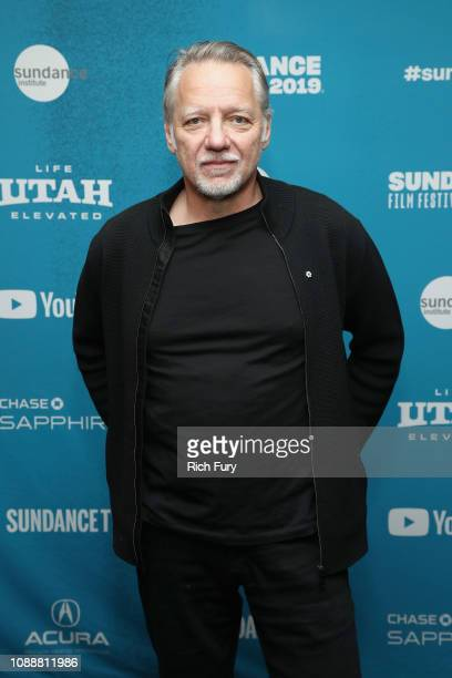 CoDirector and DP Ed Burtynsky attends the 'Anthropocene The Human Epoch' Premiere during the 2019 Sundance Film Festival at Temple Theater on...