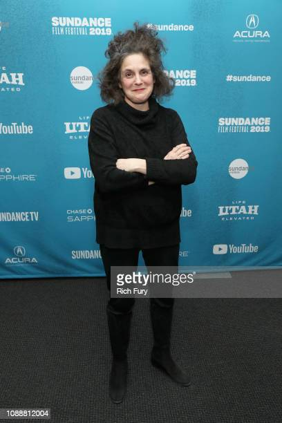 CoDirector and Writer Jennifer Baichwal attends the 'Anthropocene The Human Epoch' Premiere during the 2019 Sundance Film Festival at Temple Theater...