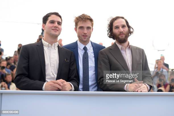 Codirector Ben Safdie actor Robert Pattinson and writer codirector Joshua Safdie attend the 'Good Time' photocall during the 70th annual Cannes Film...