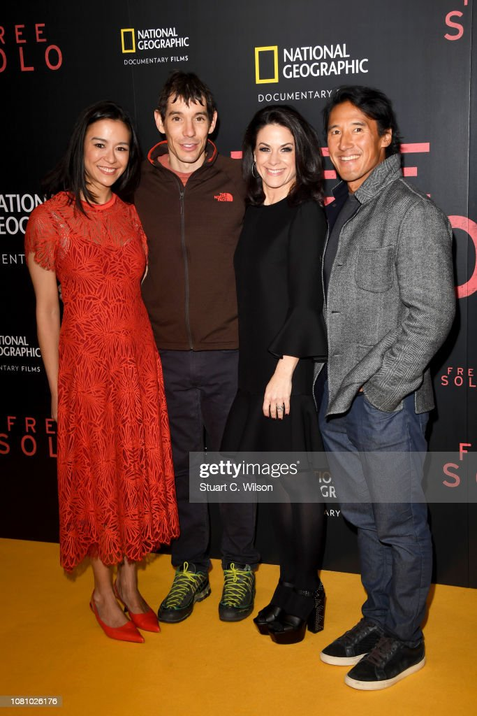 """National Geographic's """"Free Solo"""" Gala Screening - Red Carpet Arrivals : News Photo"""