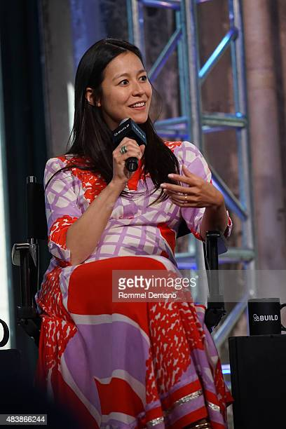 "Co-Director Elizabeth Chai Vasarhelyi attends AOL BUILD Presents: ""MERU"" at AOL Studios In New York on August 13, 2015 in New York City."