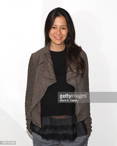 Codirector Elizabeth Chai Vasarhelyi poses for photographs during the 2015 Film Society of Lincoln Center Summer Talks with Meru held at the Elinor...