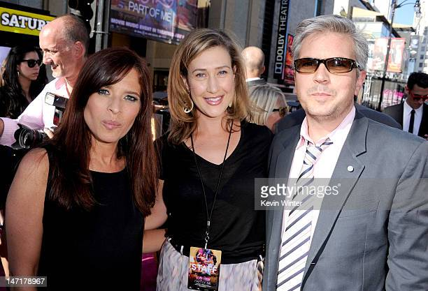 Codirector Jane Lipsitz Paramount Pictures' president of digital entertainmen Amy Powell and codirector Dan Cutforth arrive at the premiere of 'Katy...