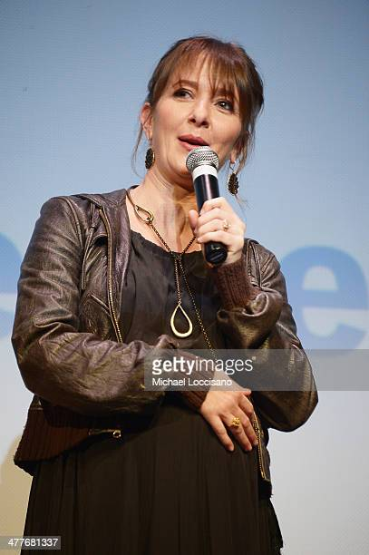 Codirector Jocelyn Towne takes part in a QA following the We'll Never Have Paris premiere during the 2014 SXSW Music Film Interactive Festival at the...