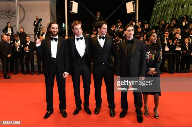 Codirector Joshua Safdie actor Robert Pattinson writer and codirector Ben Safdie actor Buddy Duress and actress Taliah Webster attend the 'Good Time'...