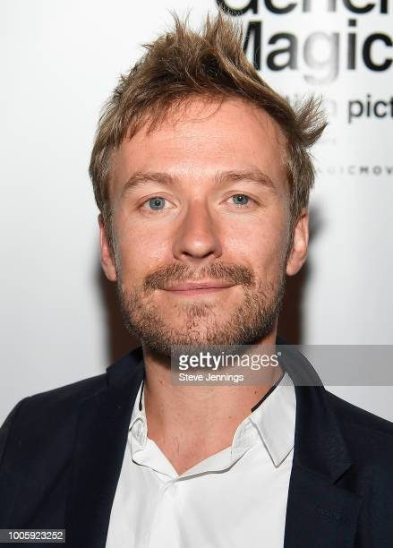 CoDirector Matt Maude attends the Silicon Valley Premiere Screening of Film Documentary General Magic at The California Theatre on July 26 2018 in...