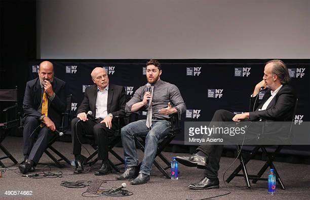CoDirector Nick Hooker editor Bob Eisenhardt director Jacob Bernstein and film writer Kent Jones speak at 'Everything Is Copy' Q A during 53rd New...