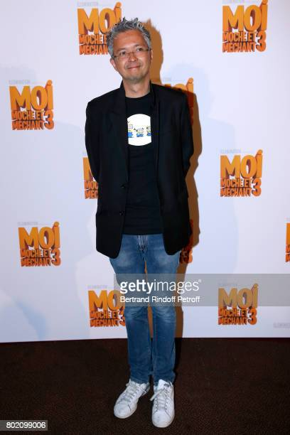CoDirector of the movie Pierre Coffin attends the Despicable Me Paris Premiere at Cinema Gaumont Marignan on June 27 2017 in Paris France