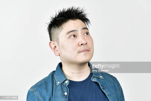 Codirector writer and producer Julian Kim from 'Happy Cleaners' is photographed at the Los Angeles Asian Pacific Film Festival on May 3 2019 in Los...