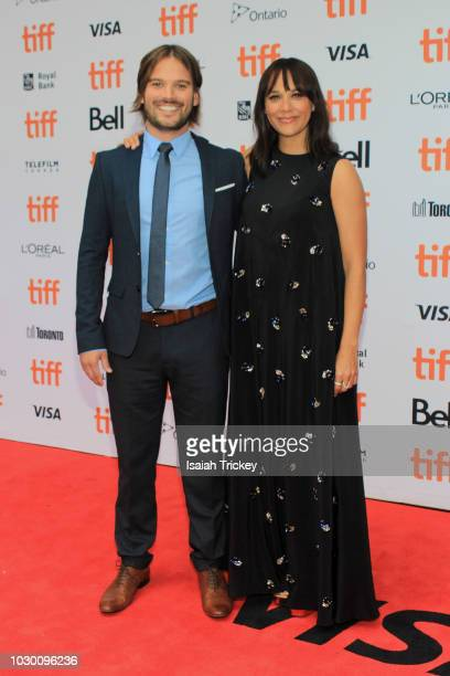 Co-Directors Al Hicks and Rashida Jones attend the 'Quincy' Premiere at Princess of Wales Theatre on September 9, 2018 in Toronto, Canada.