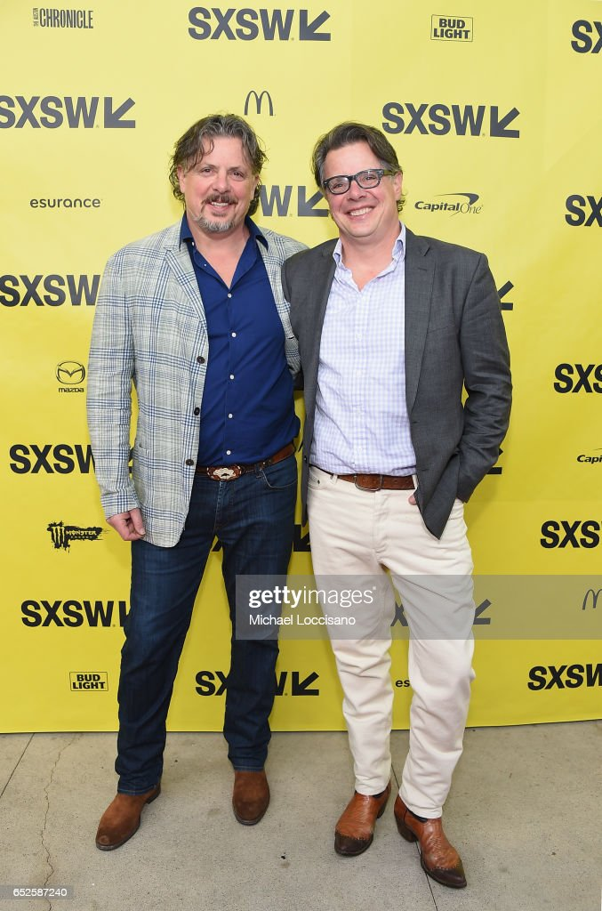 Co-Directors Alex Smith (L) and Andrew J. Smith attend the 'Walking Out' premiere during 2017 SXSW Conference and Festivals at the ZACH Theatre on March 12, 2017 in Austin, Texas.